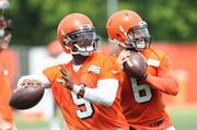 Why Tyrod Taylor locking down the starting job is the best news of the spring for the Browns: Orange and Brown Talk podcast