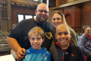 Seen@ 2019 St. Baldrick's Foundation 'Be Brave and Shave' benefit for childhood cancer at MGM Springfield