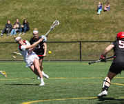 Kiley Anderson records hat trick, UMass women's lax defeats Davidson (photos)