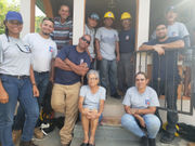 Springfield City Council President Orlando Ramos uses carpentry skills to help repair wrecked homes in Puerto Rico