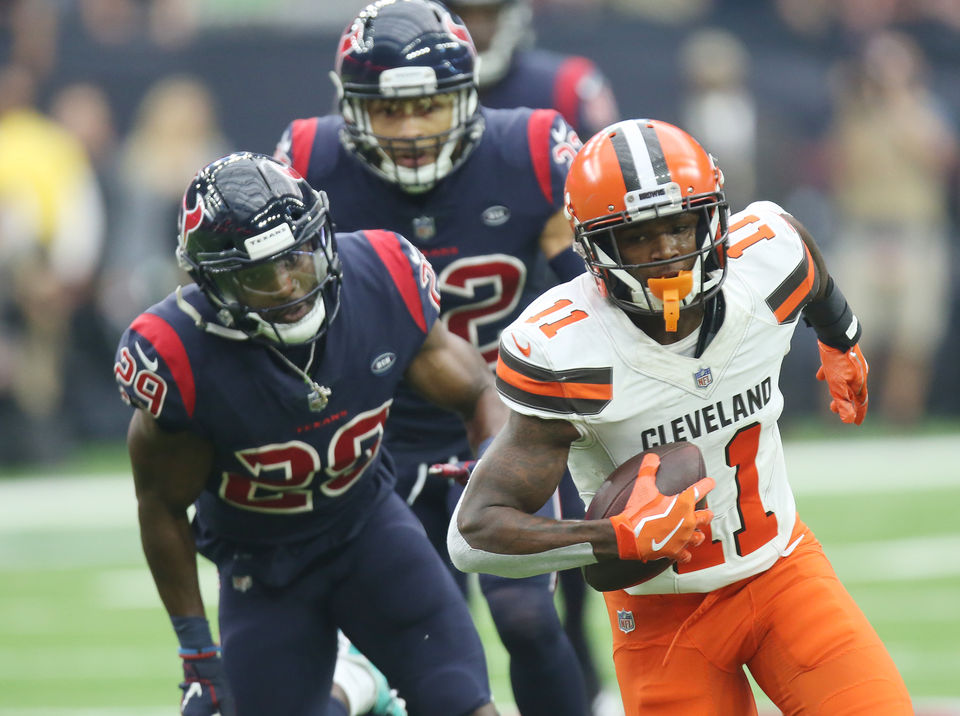 b71a4db1f Justin Reid steals a touchdown from Antonio Callaway  Browns play of the  week