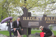 South Hadley honors Ted Belsky with plaque at Riverfront Park