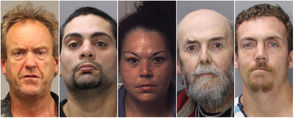 The Northampton County Sheriff's Department this week announced the following fugitives were apprehended by its Criminal Warrant Unit: