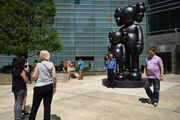 New 17-foot-tall sculpture turns heads in Downtown Detroit