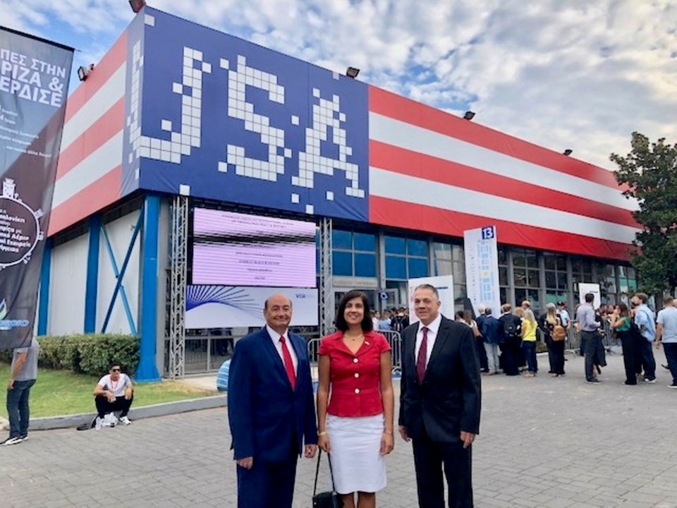 Malliotakis Attends International Fair Honoring the United States
