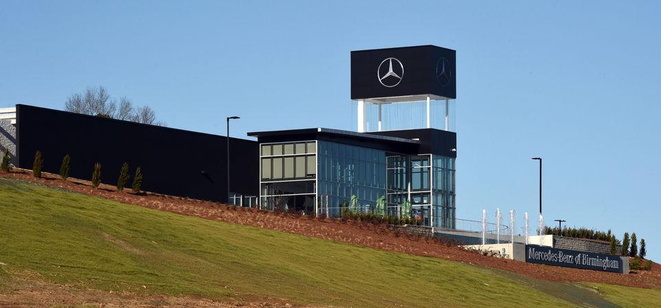 See inside nick saban 39 s new mercedes benz dealership for Mercedes benz alabama