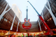 It's electric! 60-foot guitar installed at Hard Rock (PHOTOS)