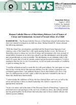 Abuso sexual del clero de la Diócesis de Harrisburg: Aquí está la lista de los acusados