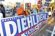 Asked about name-calling, Sen. Elizabeth Warren and GOP opponent Geoff Diehl quarrel over civility in Washington