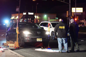 A pedestrian became trapped under a car the evening of Dec. 6, 2018, after being struck on Route 31 at Route 57 in Washington. The pedestrian was flown to a hospital.