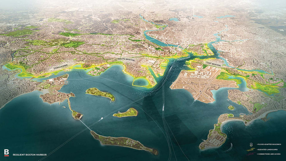 These 14 maps show how Boston plans to fight climate change ... on moon seas map, red seas map, rising sea levels, surging seas map, high seas map,