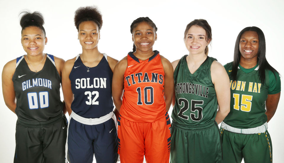 Cleveland high school girls basketball cleveland meet clevelands fab 50 and best of the best girls basketball all stars fandeluxe Image collections