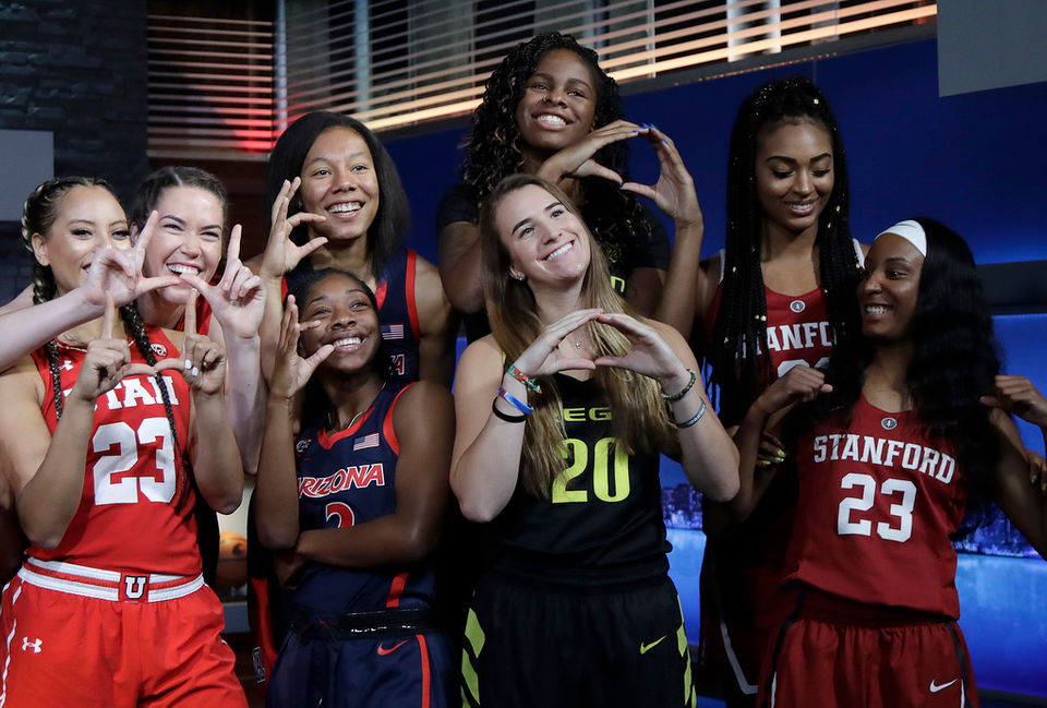 Pac-12 women's basketball media day 2018