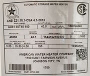 More than 616K water heaters recalled in US due to increased fire risk