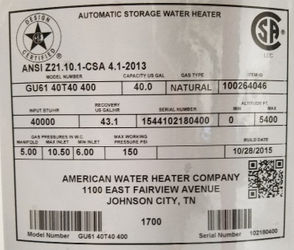 US CPSC announces recall of about 616K water heaters due to fire hazard