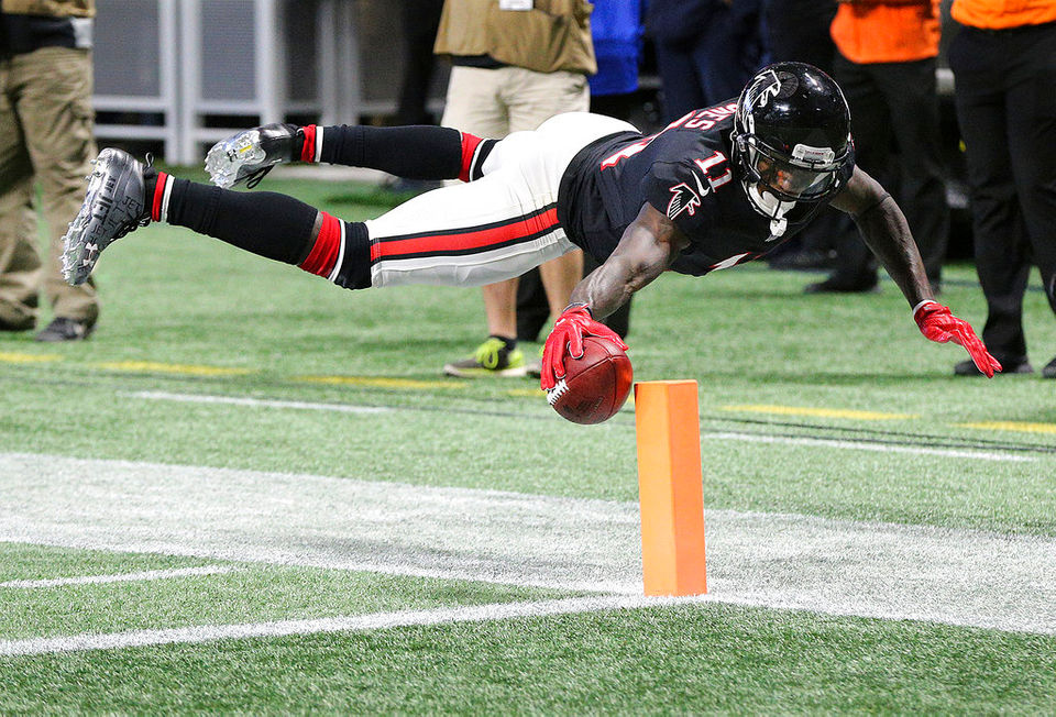 Check out Julio Jones' top 10 catches of the 2017 NFL season