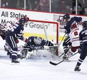 No. 4 UMass men's hockey powers past New Hampshire, 4-2 (photos)
