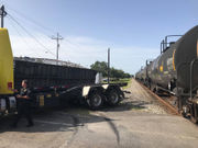Train collides with truck in Slidell, minor injuries reported, police say