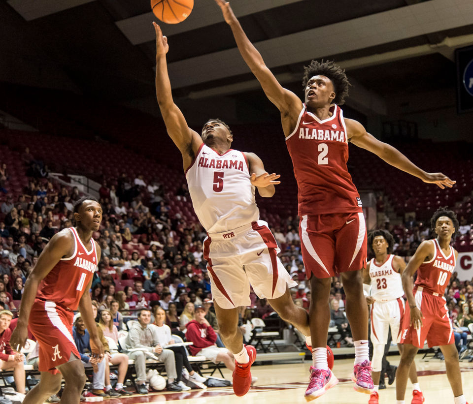 Alabama Basketball Gives Fans A First Look At 2017-18 Men