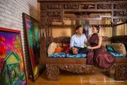 Peek inside Jazz Fest artist Terrance Osborne's technicolor world