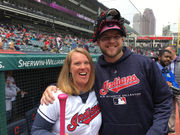 Cleveland Indians' ceremonial first pitch thrown with a purpose on Mother's Day