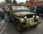 142 Jeep Wranglers participate in Hoover Meet & Greet