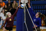 Jayden Humphrey slams her way to Citizen Patriot volleyball Player of the Year
