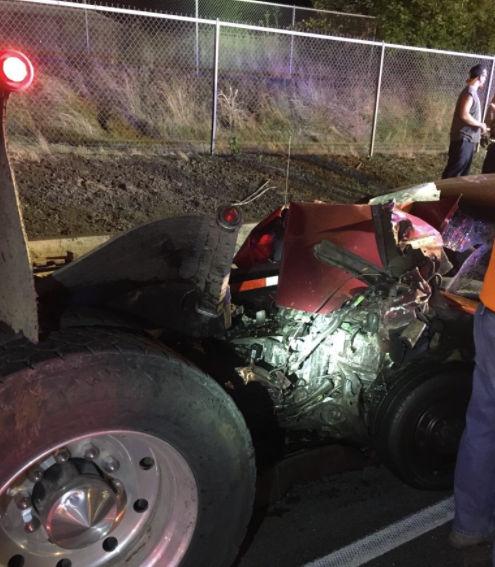 Portland Trail Blazers Broken Leg Video: Overnight I-84 Crash: 3 Vehicles, 2 Drunken Driving