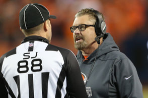 "BEREA, Ohio -- It's a moot point now, but Browns interim head coach Gregg Williams said on Monday that he wishes he could have back that timeout he called as the Browns were lining up to go for it on fourth down in the fourth quarter on Saturday night. It appeared quarterback Baker Mayfield drew the Broncos offsides, which would have converted the first down and iced the game. Williams, though, ran down the sideline signaling for a timeout before it happened. ""There was a little bit of confusion at that point in time on what play we were going to call,"" Williams said. ""We were going to go for it no matter what. That is the only way that you have total control of getting the first down, take a knee and it is over with."" The Browns, as is well-documented, did not convert following the timeout and white-knuckled their way to a one-point win thanks to Jabrill Peppers' first career sack on the ensuing Denver possession. One thing Williams wouldn't change: his decision to go for it instead of attempting to make it a four-point lead with a field goal. ""In that situation for a young team -- and it is my call -- with a young team, is impose your will,"" Williams said, ""have total control of the win, take a knee and after the first down the game is over."""