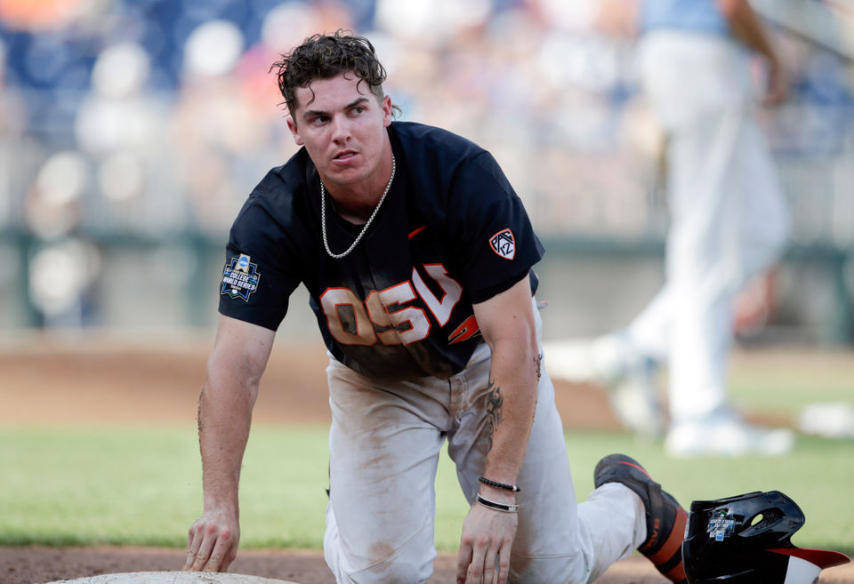 Oregon State vs. North Carolina in 2018 College World Series opener