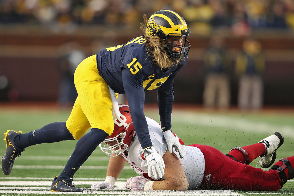 Michigan players upset about 'dirty' hits from Indiana