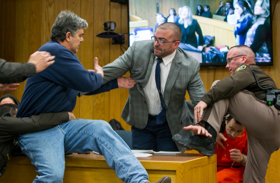 Dad who lunged at Larry Nassar donating GoFundMe earnings to help sexual abuse survivors