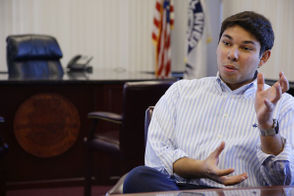 Correia, 26, was the youngest mayor in Fall River history when he was elected in 2015.