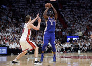 NBA Playoff highlights: Sixers, Joel Embiid ride hot shooting to win over Heat in Game 3