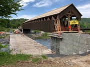 Photos: Upstate NY covered bridge, longest in the world, makes comeback