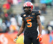 How did the state's contingent play at the Senior Bowl?