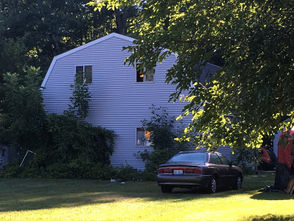 Police say a fire was sparked by a meth lab in a Bangor Township barn on Aug. 9, 2018.