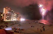 Fireworks, a new casino and a cool-looking cloud: July 4th Weekend at the beach