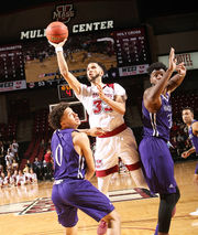 Holy Cross men's basketball outlasts UMass, 82-78, at Mullins Center (photos)
