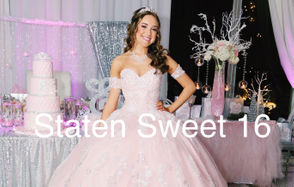 """STATEN ISLAND, N.Y. -- Angelina's in Tottenville was the divine destination for the spectacular Sweet 16 of Erica Pace, a sophomore at St. Joseph by-the-Sea High School. More than 125 beautiful guests attended the glittery Friday night affair on Jan. 18, themed """"Pink Princess Winter Wonderland,"""" replete with a four-tiered pink birthday cake, a pretty pink ballgown and tiara for Erica.  """"My daughter is a beautiful. loving, and kind person with a good attitude toward her family and friends,"""" said mom Lisa. """"The party was a amazing with excellent food and entertainment."""" Scroll down for more glimpses of the evening's festivities, as we introduce """"Staten Sweet 16,"""" in which we'll be highlighting some of Staten Island's most fabulous Sweet Sixteen parties. And we want to hear from you! Submit your Sweet 16 photos to: gsantos@siadvance.com."""