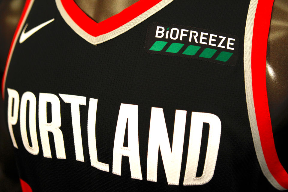 pretty nice 7bcf4 0a15d Portland Trail Blazers sign jersey patch sponsorship deal ...