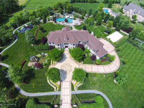 After being on and off the market since 2015, the sprawling Colts Neck estate owned by Retro Fitness founder Eric Casaburi is now on the auction block, according to its Zillow listing.   Last listed for $3.2 million, the 10,000-square-foot home, which is located on nearly four acres of land and has seven bedrooms and nine bathrooms, will be sold without reserve.