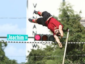 Up, up and away Ever seen a pole vaulting competition? How about one in the heart of the LoDa entertainment district in downtown Mobile? Pole vaulting competitors of all ages and skill levels, including Olympians and professionals, compete in this annual invitational and it's free for all who want to watch. Dauphin Street Vault, July 21 at 10 a.m., Lower Dauphin Street, free. More information about the event can be found here.