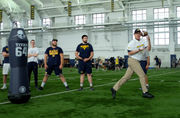 Jim Harbaugh, Michigan host inaugural Father's Day camp