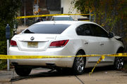 Double shooting in Trenton leaves crashed car, bloody scene