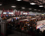Look inside L.C. Walker Arena as seating and concourse renovations progress