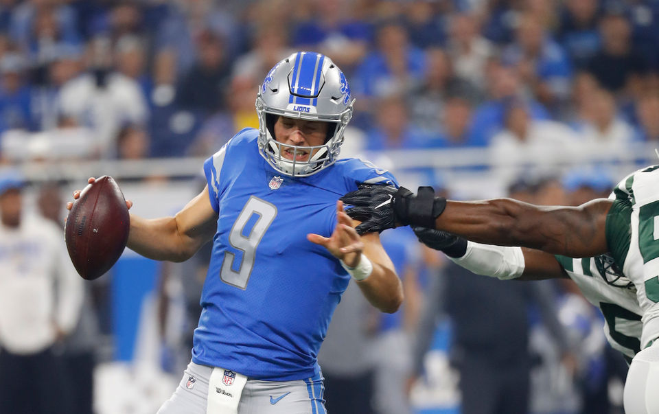 timeless design efd87 485c5 Game-by-game predictions for the Detroit Lions in 2018 ...