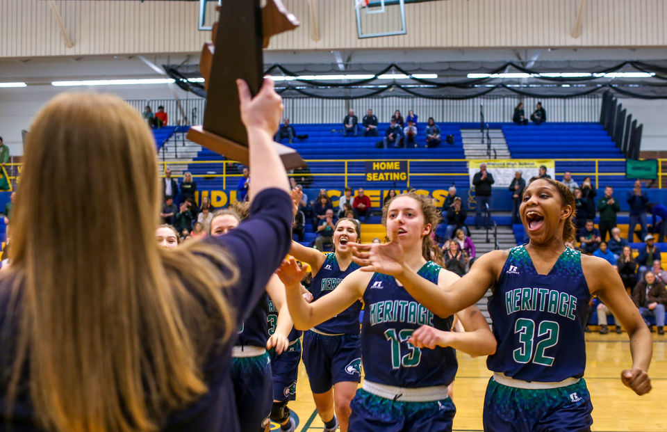 Michigan high school girls basketball mlive 2018 high school girls basketball tourney brackets reveal regional matchups fandeluxe Image collections