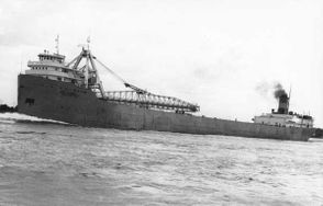 The Carl D. Bradley broke in two during a violent storm on Lake Michigan in 1958.