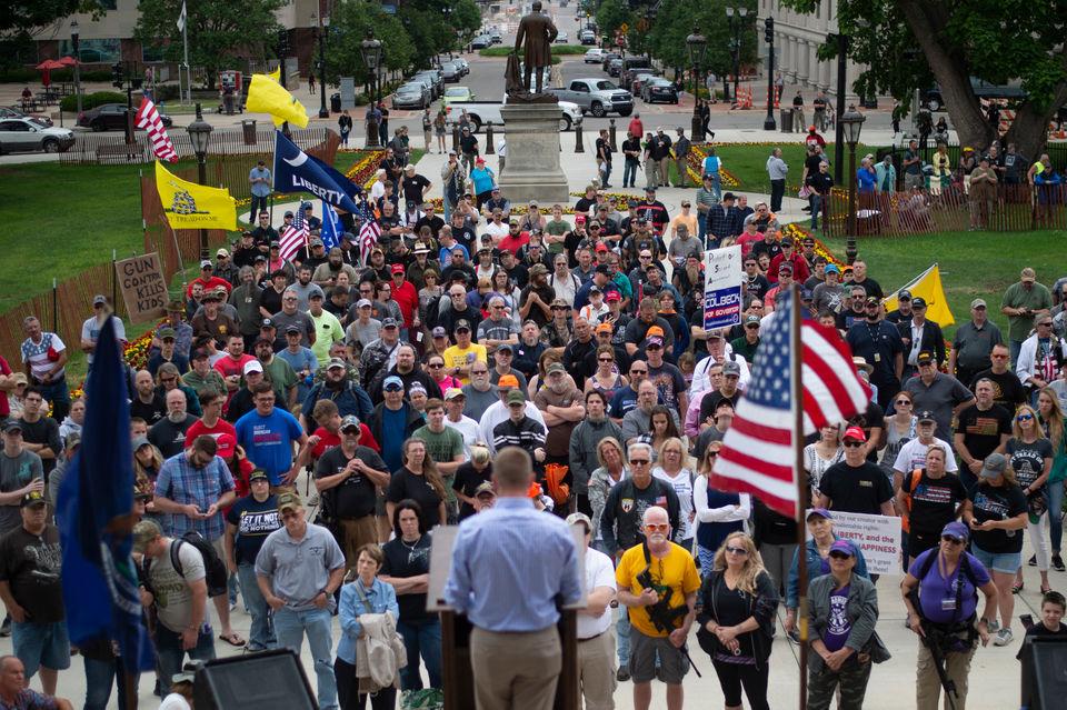 2018 : Second Amendment Rally at Capitol